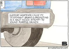 purpose-driven branding - Tom Fishburne