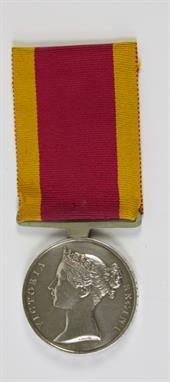 Lot 490: China War Medal, 1842, H.M.S. Belleisle, Royal Navy. Estimate: £500 - £600. Sale date 18th June 2014 www.afbrock.co.uk