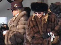 Street style, Sable coats