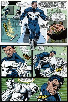 moon knight vs punisher | Punisher Vs. Moon Knight 1. Photo by DRDOOMSDAY-360 | Photobucket