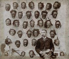 """""""Horatio Gordon Robley"""" ein Soldat, Künstler und Sammler von makabren Antiquitäten."""