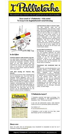 't Pallieterke nr 22 van 28 mei 2014