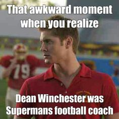 I totally think it was one of those cases that Dean worked without John or Sam <-- lol definitely