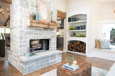 The Chapman's double sided fireplace is just what we need as the weather gets cooler here in Texas! Tell us your favorite thing about the Chapman reveal!  AND don't forget an all new episode of #FixerUpper airs tonight on HGTV at 9/8CT!