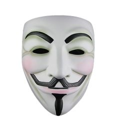 2x V For Vendetta guy fawkes Anonymous Mask Costume Party Fun Cosplay Bulk Sale