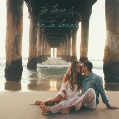 Our Engagement Session in Manhattan Beach ~ http://toneitup.com/blog.php?Tone-It-Up-Wedding-Series-5707