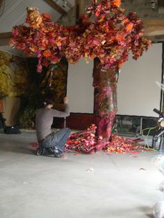 installation l'arbre rouge