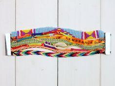 Armbänder - Armband Hipanema Style mit Magnetverschluss - ein Designerstück von Hippie-Mania bei DaWanda