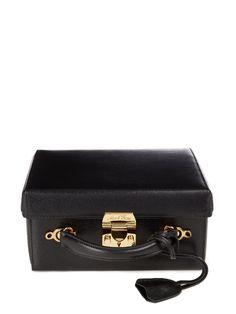 Mark Cross Grace large saffiano-leather box bag