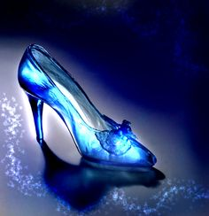 Beautiful Real life Glass Slippers.
