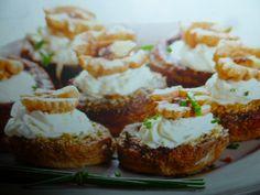 funghi champignon ripieni - con noci