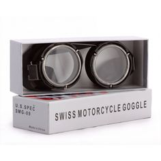 Swiss Motorcycle Goggles
