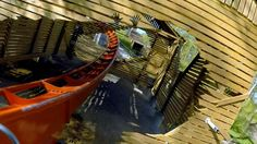 Thunderbird right front seat on-ride HD POV @60fps Holiday World