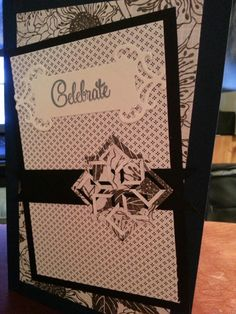 Broinlaw 2014 bday card outside.  Spellbinders Cut and Fold Angle Approach die.