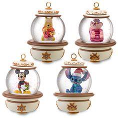 Disney Snowglobe Ornament Set #3, - Item No. 302131P, $39.50 sale $19.99, 4'' H x 3'' D