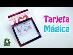 202. Manualidades para regalar: Tarjeta mágica (Reciclaje) Ecobrisa - YouTube