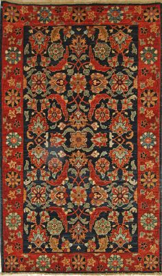 3'1 X 5'3 20KY220 FARYAB Vegetable dyed, hand-knotted wool rug at Little River Oriental Rugs. www.nhrugs.com
