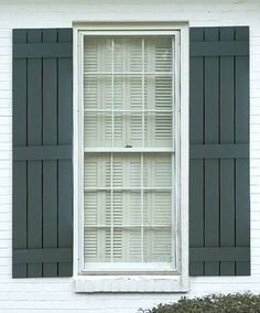 One of the popular style of wooden shutters is the board and batten style of shutter. This type of shutters brings back an old style feel a...