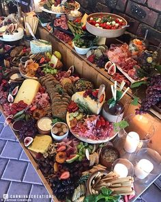 incredible and indulgent foodie creations, platters