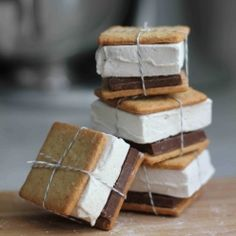Homemade graham crackers + Homemade marshmallows = the BEST s'mores you've ever had!