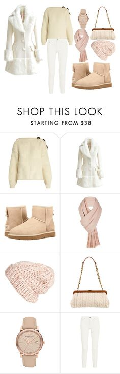 Wintery Set #1 by sandstormthenerd on Polyvore featuring Acne Studios, WithChic, UGG, Michael Kors, Burberry, Free People and Winter