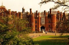 Castles:  Hampton Court Palace, London Borough of Richmond-upon-Thames, Greater London, Middlesex, England. It was originally built for Cardinal Thomas Wolsey, a favourite of King Henry VIII, circa 1514; in 1529, as Wolsey fell from favor, the palace passed to the King. It exhibits its original Tudor style, as well as signs of its later Baroque remodeling.