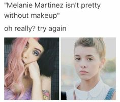 She is so pretty cry baby Cry Baby, Billie Eilish, Melanie Martinez Photography, Bride Of Frankenstein Costume, Crybaby Melanie Martinez, Atlantic Records, She Song, Without Makeup, Her Music