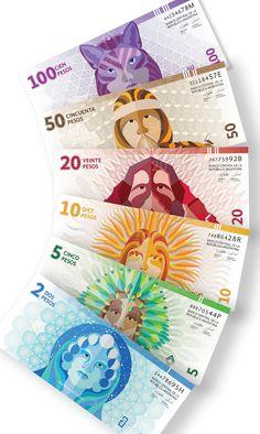 Rediseño / Billetes Argentinos on Behance