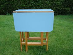 Retro 1950u0027s Formica Kitchen Table By BirchandHare On Etsy, £65.00