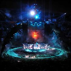 U2 Concert Stage, designed by Mark Fisher: