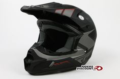 Fly Racing Kinetic Impulse Helmet Matte Black/Grey – Click Image For More Info