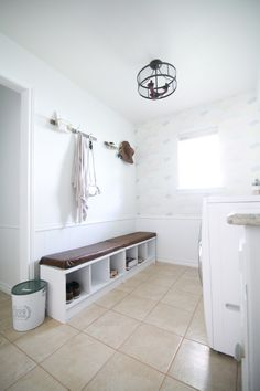 YOU GUYS! It's here! The big laundry room reveal! Completely transformed 100% in six short weeks- come check out the laundry room makeover!