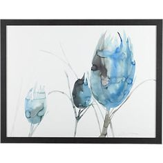 Prairie Thistle Print in Prints | Crate and Barrel