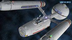 Starfleet ships — Daedalus by MadKoiFish