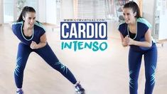 Ejercicios de cardio intenso | 20 minutos - YouTube Pre Workout For Cardio, Stairmaster Workout, Kickboxing Workout, Easy Workouts, Tabata, Yoga Sculpt, Pilates Video, Fitness Magazine, 20 Min