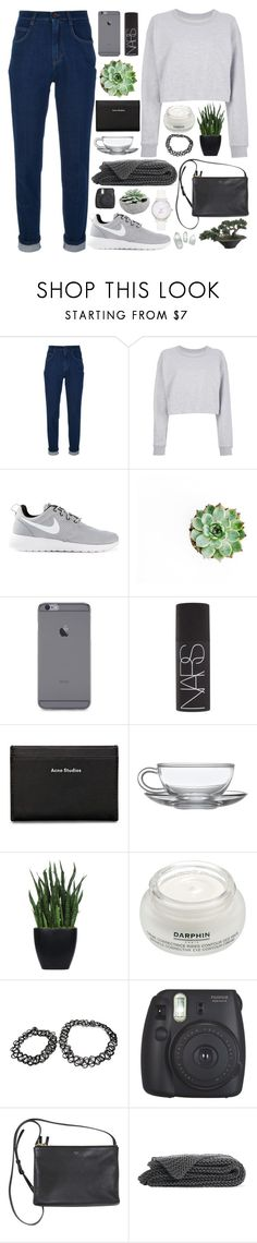 """TONIGHT YOU BELONG TO ME"" by adal1ne ❤ liked on Polyvore featuring Dolce&Gabbana, Maison Margiela, NIKE, NARS Cosmetics, Acne Studios, Lux-Art Silks, Darphin, Fujifilm and Kate Spade"