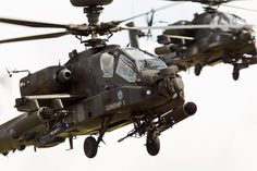 """Apache Gunship 1 and 2!!"" @ RIAT 2015"