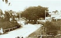 Tom Ugly's Point in Kogarah in southern Sydney in 1910.