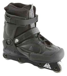 K2 Fatty Pro Inline Skates $119.95...I'll probably break my ass...but I'm going to try anyway. Fit Board Workouts, Fun Workouts, Aggressive Skates, Workout Dvds, Inline Skating, K2, All Black, Hiking Boots, Fitness