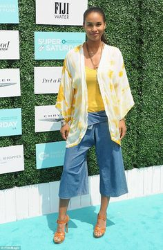 Childless and loving it: Joy Bryant, (pictured in May wrote in an essay for Lenny Letter that she doesn't want kids Joy Bryant, Rude People, Carrie Fisher, Old Actress, Celebrity Feet, Star Fashion, Style Me, Beautiful Pictures, Kimono Top