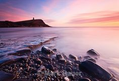KE034 Afterglow, Clavell's Tower, Kimmeridge - Purbeck