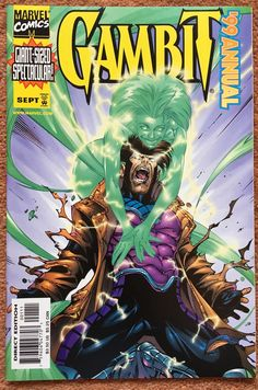Gambit Annual 1999 By Walter McDaniel Vince Russell