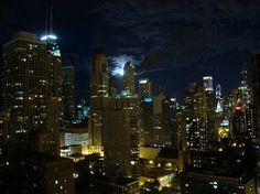 Chicago from the 32nd floor.