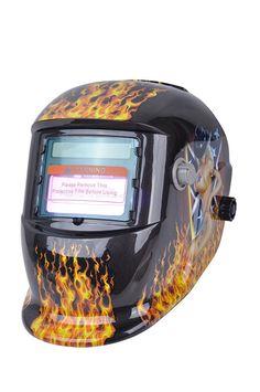 0b95746fc09 Venta caliente de oscurecimiento Auto sexy chica de soldadura máscara  capucha de soldadura sombrero