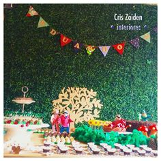 Festa na floresta - 1 ano by Cristina Zaiden Interiores