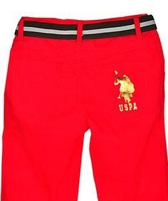 "U.S. Polo Assn. ""Thaxter"" Cropped Pants"