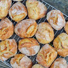 Danish Food, Bread Rolls, Fabulous Foods, Brownie Cookies, Bread Baking, Bread Recipes, Tapas, Vegetarian Recipes, Food Photography