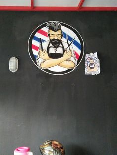 Mural barner shop