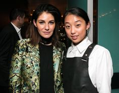 Camilla Freeman-Topper (in CAMILLA AND MARC) and Margaret Zhang (of Shine by Three)