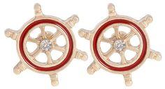 Bijou Brigitte  Stud Earrings - Red Rudder